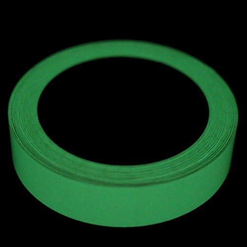 BESTIM INCUK Leuchtband / Klebeband, leuchtet im Dunkeln, für Partys, Treppen, Notfallmarkierungen, entfernbar, wasserdicht, 10 m