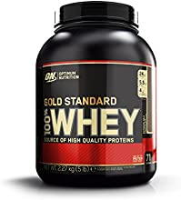 Optimum Nutrition Gold Standard 100% Whey Suplemento para Deportistas, Sabor de Chocolate - 2270 g