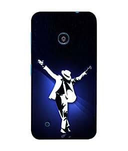 Fuson Designer Back Case Cover for Nokia Lumia 530 :: Nokia Lumia 530 RM 1017 :: Nokia Lumia 530 Dual SIM :: Microsoft Lumia 530 Dual (Dancer Famous Singer Young Youth Ladies Gents)
