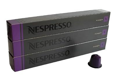 Nespresso Capsules purple - 30x Arpeggio - Original Nestlé - Espresso Coffee by Nespresso