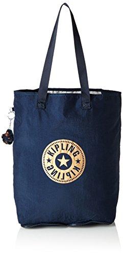 kipling-hip-hurray-5-bolsos-totes-mujer-blau-true-blue-one-size