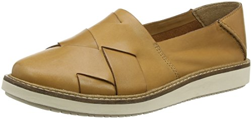 Clarks Glick Harvest, Ballerines Femme Marron (Light Tan)