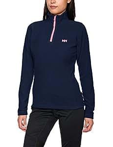 Helly Hansen Women's Day Breaker 1/2 Zip Fleece Jacket - Evening Blue, 2X-Large
