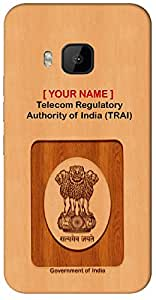 "Express your Government Job with "" Your Name "" Printed on your Apple iPhone 4 / 4S Mobile back cover with your Dept: Telecom Regulatory Authority of India (TRAI)"