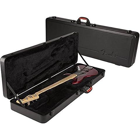Fender ABS sistema de refuerzo de precisión moldeada/funda Jazz Bass - controles de graves P - J funda para guitarra de graves