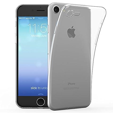 esorio® Apple iPhone 7 Hülle Case mit Kameraschutz + Lightning Staubschutz in transparent
