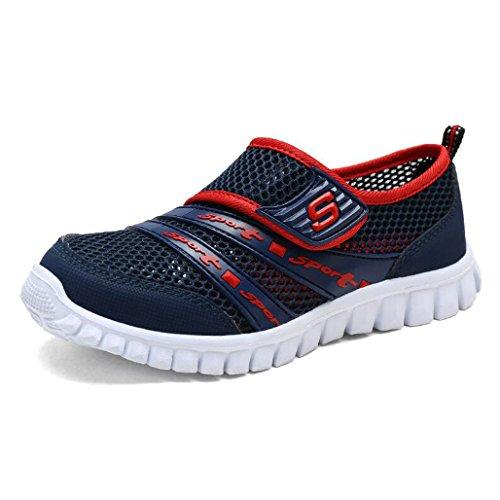Eagsouni® Unisex-niños Malla Transpirable Velcro/Zapatos