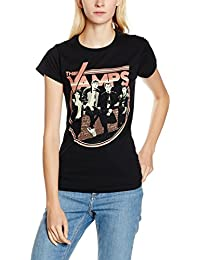 The Vamps On Wall, Camiseta Para Mujer