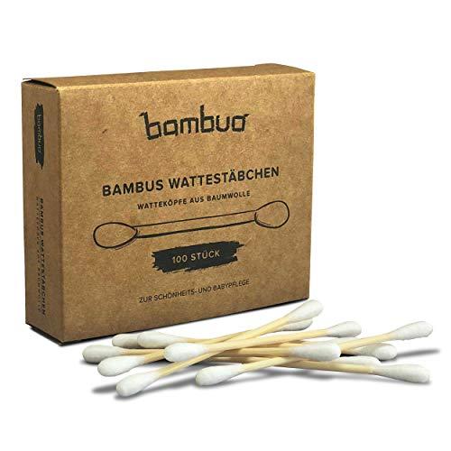 Bambuo bambú bastoncillos cabeza-plastikfrei-de