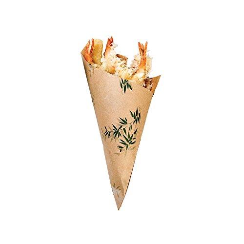 Garcia de Pou 2000Einheit Zapfen Feel Design 70gsm in Box, Papier, natur, 30x 30x - Papier Essen Zapfen