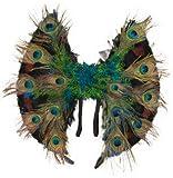 Kostüm Zubehör Flügel Paradiesvogel Pfau zu Karneval Fasching