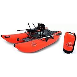 Belly Boat ONDATRA in Katamaran Form für Freizeit und Angeln, Pontoon Boat, Schlauchboot