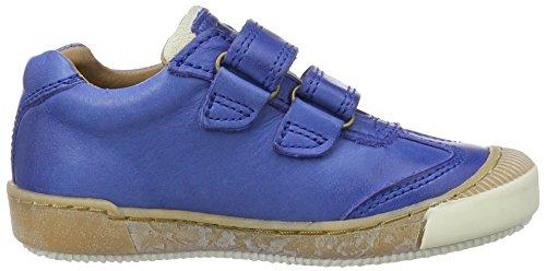 Bisgaard - Klettschuhe, Scarpe da ginnastica Unisex – Bambini Blau (601-1 Cobalt)