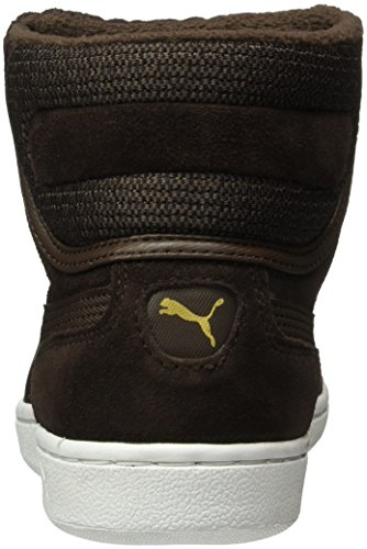 Puma Vikky Mid Twill Sfoam Sneaker Marrone (café Negro-café Negro 02)