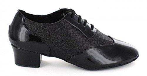 TDA - Ballroom uomo Glitter Black