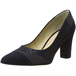 Piazza Damen 930517 Pumps, Blau (Blau), 40 EU