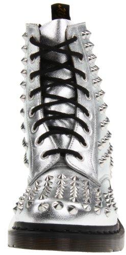 Dr Martens Chaussures à pointe métallique Argent - argent