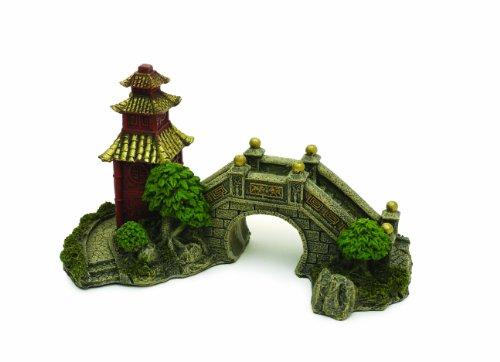 Rosewood - Adorno de jardín japonés para acuario