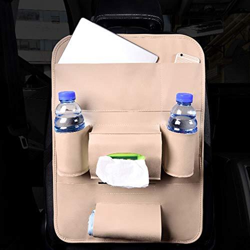 Xiaomu Weihnachten Sitzrückentasche Auto Sitztasche Universal PU Leder Multicolor Anti Tritt Dirty...