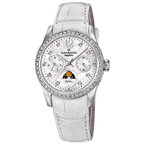 Candino orologio da donna c4684/1fase lunare