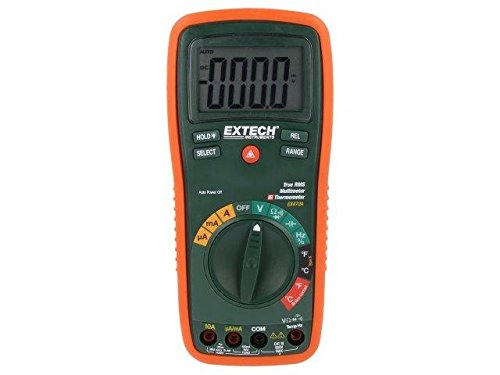 EX470A Digital multimeter LCD 3999, with a backlit True RMS AC EXTECH Extech True Rms Digital-multimeter