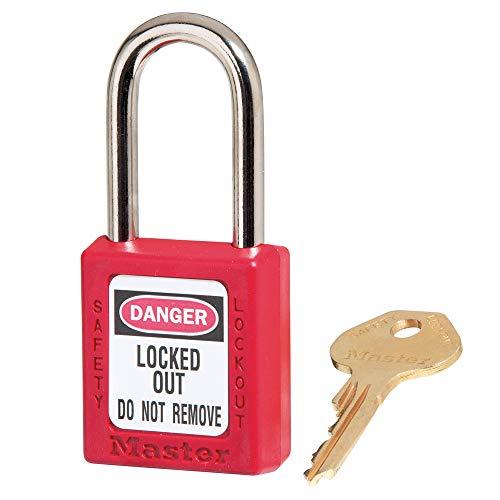 Masterlock s410red M/Lock Lockout Vorhängeschloss-Rot