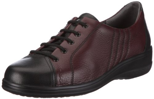 Meisi Gianna 23672-93, Baskets mode femme Rouge-TR-I1-2
