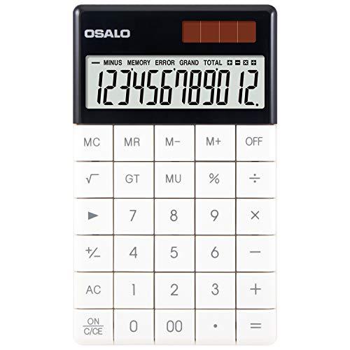 Pendancy Taschenrechner mit LCD-Display, extra groß A-1-White