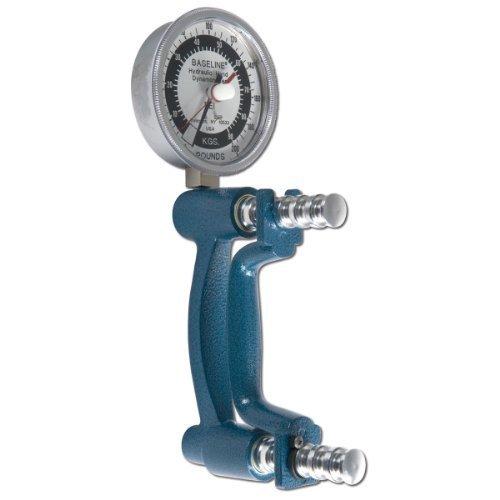 Baseline 12-0243 Hires Hydraulisches Hand-Dynamometer, 200 lbs Kapazität von Baseline -