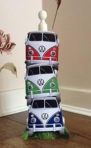 Wooden VW Camper Van Kitchen Roll Holder