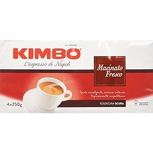 Kimbo Macinato Fresco Caffè Macinato - 4 Pacchi da 250g