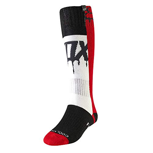 Fox Socks Lady MATA Drip Mx Flame Red Os
