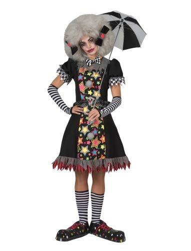 Carnevil Clown Dame Größe - Carnevil Kostüm