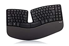 Microsoft Sculpt Ergonomic For Business (Versione Straniera) Tastiera, QWERTZ - Layout, Nero
