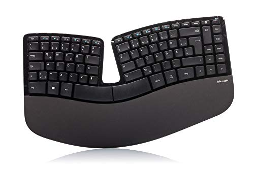 Microsoft (5KV-00004) Sculpt Ergonomic Keyboard bulk, deutschsprachige QWERTZ-Layout