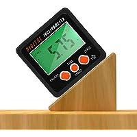 Yinuoday - Transportador de ángulos impermeable con medidor de inclinación digital y base magnética