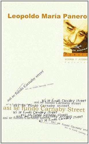 Así se fundó Carnaby Street (La rama dorada - Poesía)