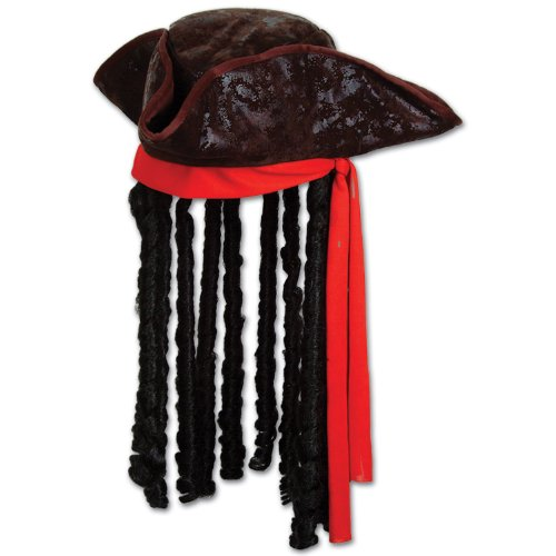 Beistle karibischer Piraten-Hut