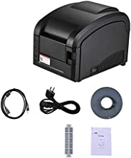 Festnight Barcode Printer,GP-3120TL Thermal Printer Adhesive Sticker Barcode Label Graphic Printer High Speed