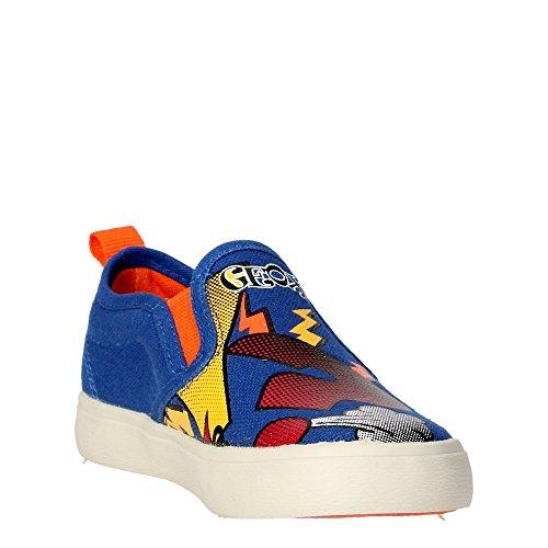 Geox Jr Kiwi D Jungen Sneaker Hellblau