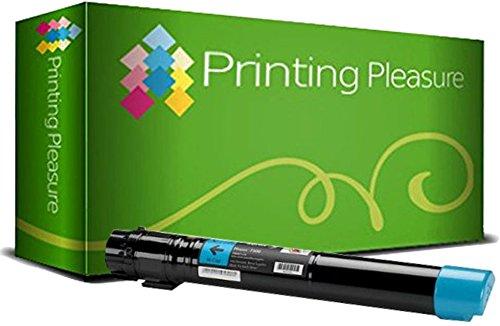 106R01436 Cyan Premium Toner kompatibel für Xerox Phaser 7500, 7500N, 7500DN, 7500DT, 7500YDN, 7500YD, 7500DNZ, 7500DX (Toner Phaser 7500)