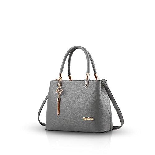 Nicole&Doris Nuove donne / signore adattano la borsa di Crossbody spalla borsa Borsa di vendita calda Work blu grigio