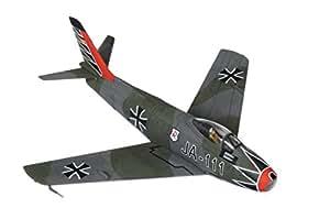 Corgi (Avions Collector) - CAA35816 - Véhicule Miniature et Circuit - Canadair Sabre MKVI - Luftwaffe -JA-111 Hartmann