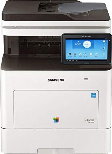 Samsung ProXpress SL-C4060FX Farblaser-Multifunktionsgerät (A4, 4-in-1, Drucker, Kopierer, Scanner, Fax, D-ADF, Duplex)