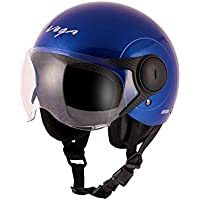 Vega Open Face Atom Blue Helmet-M