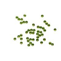 Toga MEC304 Lot DE 50 Strass Thermocollant Strass Vert Anis 0,6 x 0,6 x 0,2 cm