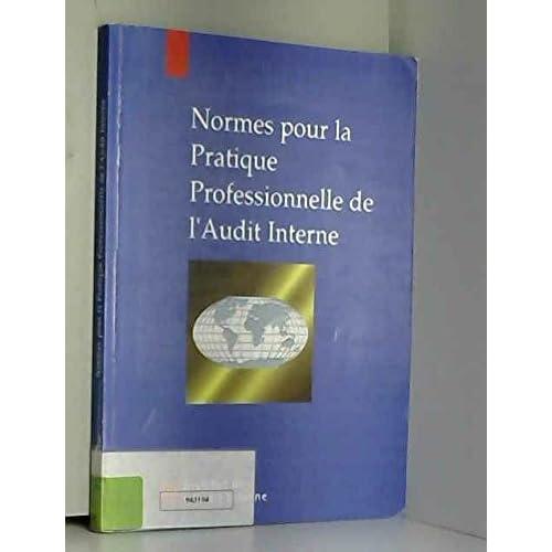 Normes pour la pratique professionnelle de l'audit interne