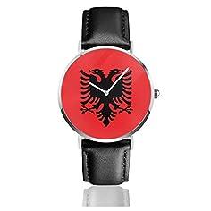 Flagge Albaniens...