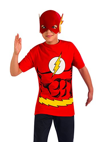 Kit costume Flash DC Comics garçon
