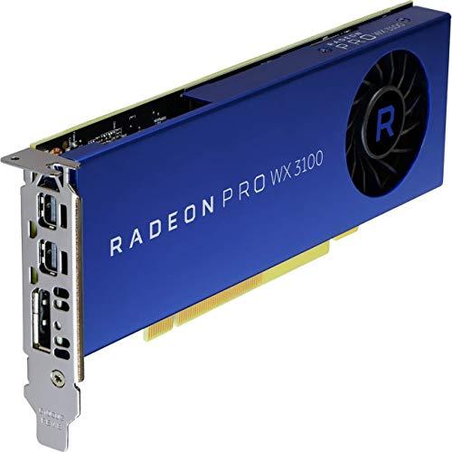 AMD Radeon Pro WX 31004GB GDDR5-Graphics Cards (Radeon Pro WX 3100, 4GB, GDDR5, 128Bit, 1500MHz, PCI Express x16)